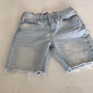 Kids denim shorts , so cute . Fantastic condition.